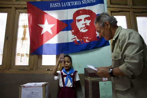 Cuban ballot box