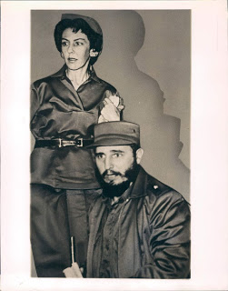 Celia and Fidel 1960